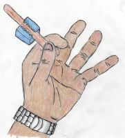 Hand Study 1 by Flexico