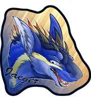 Personal - Jaeger Toony Badge by TwilightSaint