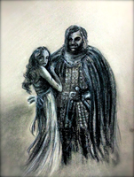 Sandor and Sansa by Moonlight-Seraph