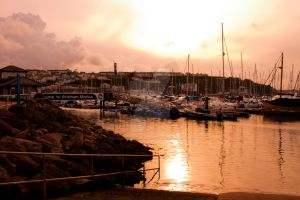 Vibrant Harbour by DemonsWrathPhotos