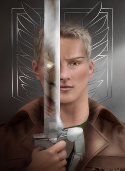 Reiner Braun aka The Armored Titan by U-Svetu-Maste