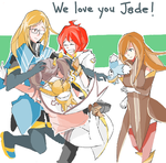We Love you Jade! by m0mentai