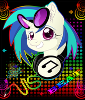 Vinyl Scratch by UniSoLeiL