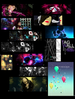 Tag Wall New Style by luquituxxx