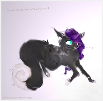 .:Gift:. Somewhere up in the air. by SawyerMoonKitty