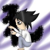 L lawliet by IcetheCat