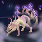 Mega Ninetails by FlightlessArchangel