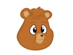 teddy ruxpin with mlp eyes by kuren247