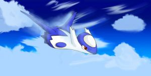 Latios going Supersonic by Pikachu242