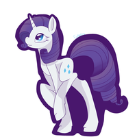 Rarity sticker by Natural-Melody