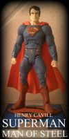 Henry Cavill SUPERMAN: Man of Steel custom figure by matthancock