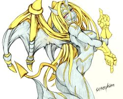 Feminize Galio coloured by NOodleOfBowl