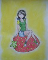 Sam Strawberry from Faliti by WildBerry83