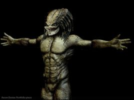 Predator-Zbrush Body finished by Ravanna7