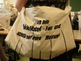 Tokio Hotel Bag, Homemade by GokkiVanGogh
