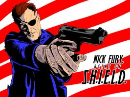 Nick Fury 1 by jaypiscopo