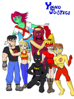 Young Justice - Legend Style by Darth-Chaltab