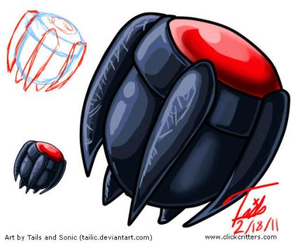 Art Sheet - Darkness Capsule by Tailic