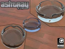 ashtray 3d by christ139