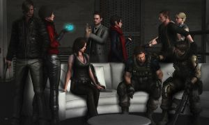 Resident evil 6 by PhlegmaticPerson