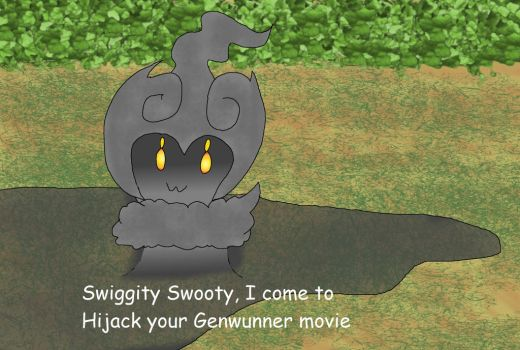 Marshadow in the Pokemon I choose you movie by kingofthedededes73