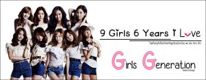 Happy 6th Anniversary SNSD Wallpaper by Costaria23