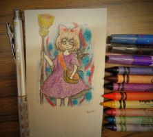 Crayon: Kiki's delivery by vt2000