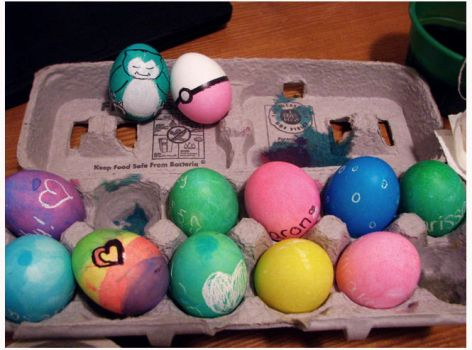 Easter Eggz by carissa-xy