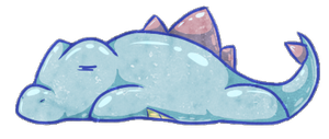 Totodile by AgentFrost
