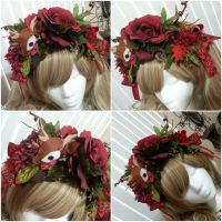 Deer Flower Crown Headband by NoFlutter