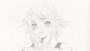 Mizore Shirayuki Sketch by SegaGenesis4100