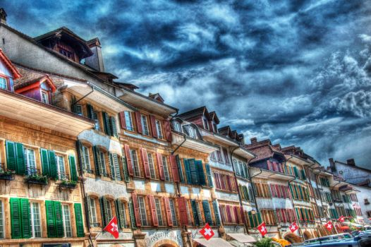 Old town facade HDR by shinz0n