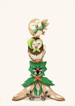 Rowlet Tower by Kanizo