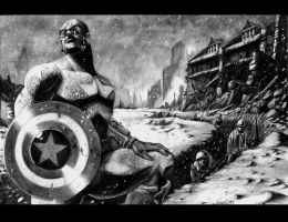 Captain America by LivioRamondelli