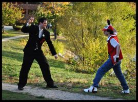 Red vs. Giovanni by LaunchBoss