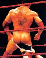 Batista Naked Butt by englishxmuffin