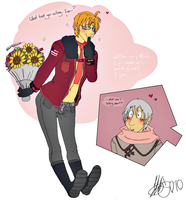 Aph- You're Late by TiffyXD