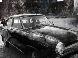 old car and old pic by dpaulo