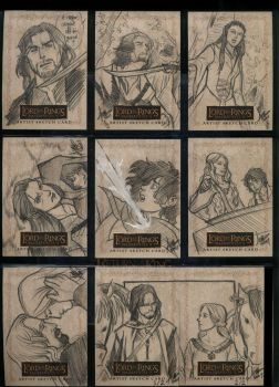 LOTR Masterpieces II 073-081 by aimo