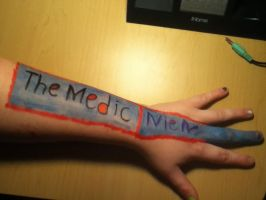 TF2 Arm Art: The Medic. by ZANe-The-Damned