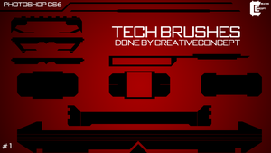 Tech Brushes by CreativeConcept2020
