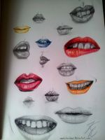 Mouths by MoonlitRainbow