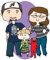 Marly's Square Family by mokia-sinhall