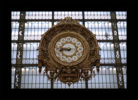 Horloge at Orsay by Blofeld60