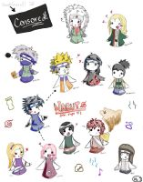 Naruto Chibis Page 1 by babydoog2
