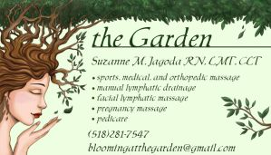 The Garden Bizz Card Colored by OtakuEC