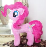 Pinkie Pie Custom Minky Plush 12 inch plus by ponypassions