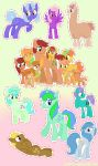 A Bunch of Ponies 5 by Looji