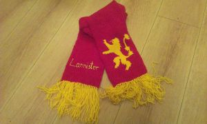 Lannister Scarf by themagpiesnest