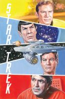 star trek Original Fab Four by WestStudio3